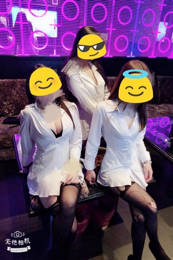 【巨亨】OL白襯衫+黑絲襪-【夜總會制禮便服店】-【武小P】